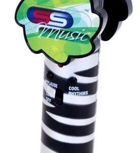 Supersonic Mikrofoni Musta