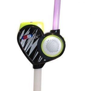 Supersonic Mikrofoni sekä teline MP3-toiminnolla 120 cm