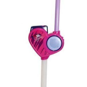 Supersonic Mikrofoni sekä teline MP3-toiminnolla 120 cm Pinkki