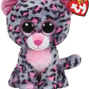 TY Tasha Vaaleanpunainen/Harmaa leopardi Medium