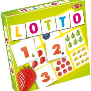Tactic Lotto Kirjaimet & Hedelmät