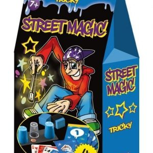 Tactic Street Magic 4 taikatemppua Sininen