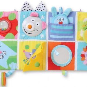 Taf Toys Pehmeä aktiviteettikirja Cot Play Center 0-3 kk