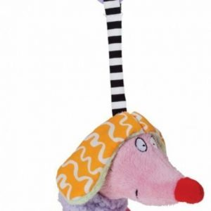 Taf Toys Pehmeä lelu Kooky Dog Vaaleanpunainen