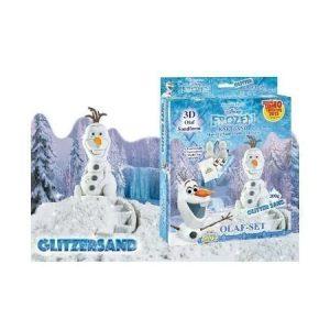 Taikahiekka Glitter Olaf setti 200g