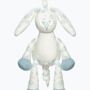 Teddykompaniet Diinglisar Cupcake Organic Soittorasia Sininen