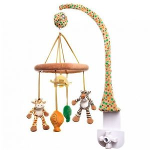 Teddykompaniet Diinglisar Mobile Kirahvi / Tiikeri