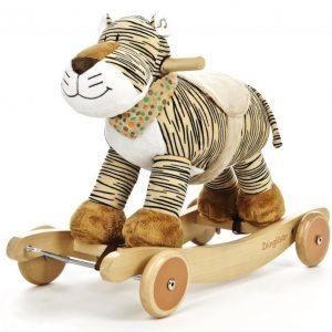 Teddykompaniet Diinglisar wild Ääntelevä keinueläin Tiikeri