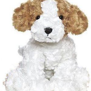 Teddykompaniet Hauvelit Ruskea/Valkoinen