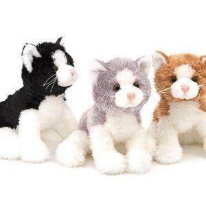 Teddykompaniet Kissa Mustavalkoinen