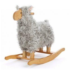 Teddykompaniet Lammaskeinu Harmaa