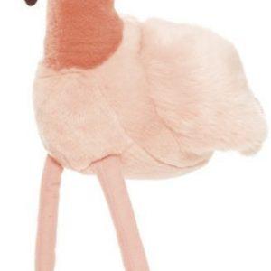 Teddykompaniet Teddy Wild Pehmoeläin Flamingo Vaaleanpunainen