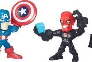 The Avengers Super Hero Masers Micro 2 Pack Captain America VS Iron Skull