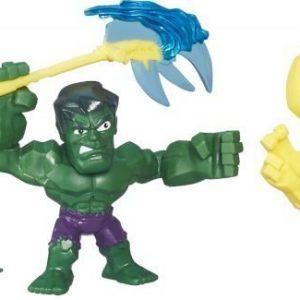 The Avengers Super Hero Masers Micro 2 Pack Hulk VS LokiI