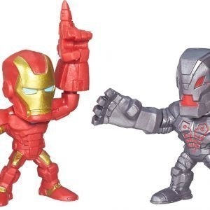 The Avengers Super Hero Masers Micro 2 Pack Iron Man VS Ultron