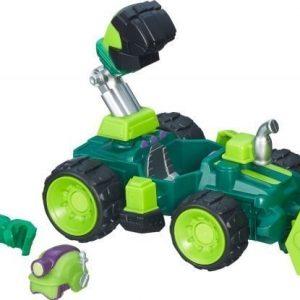 The Avengers Super Hero Mashers Micro Figure & Vehicle Hulk Smash Dozer