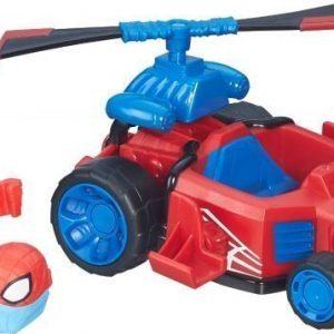 The Avengers Super Hero Mashers Micro Figure & Vehicle Spider Man Speeder