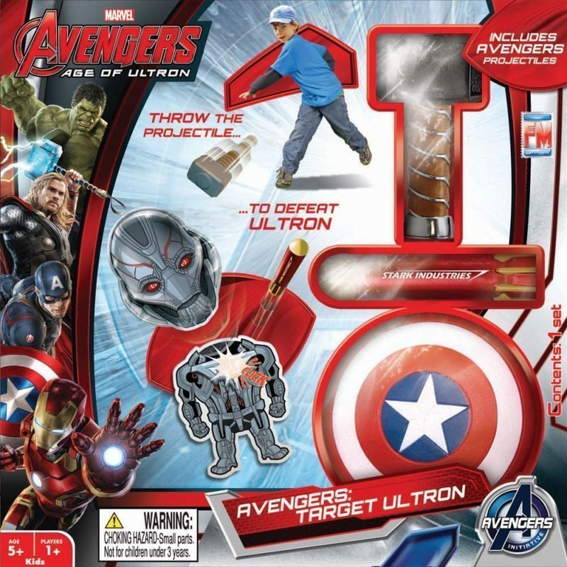 The Avengers Ultron Attack