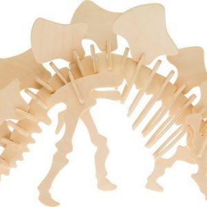 Träpussel Stegosaurus