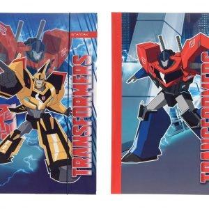 Transformers Kulmalukkokansio