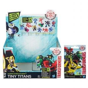 Transformers Tiny Titans -yllätyspussi
