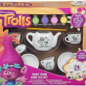 Trolls Maalattava teeastiasto
