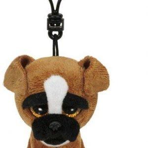Ty Brutus Boxer Dog Clip Pehmoeläin