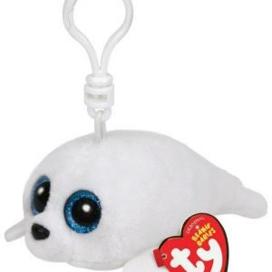 Ty Icy White Seal Clip Pehmoeläin