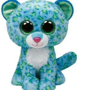 Ty Leona Blue Leopard Medium Pehmoeläin