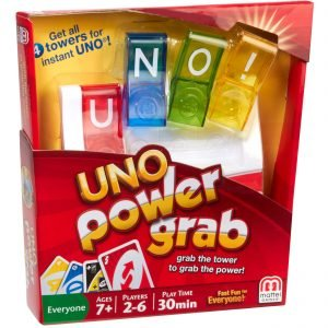 Uno Power Grab Korttipeli