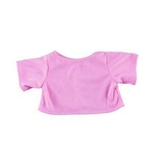 Vaaleanpunainen T-paita 40 cm