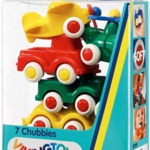 Viking toys Miniknubbis-setti 7 erilaista 7 cm