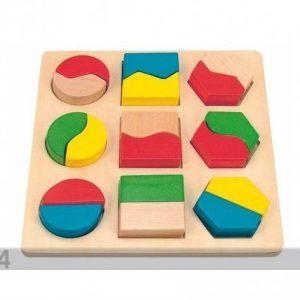Woody Geometrinen Palapeli