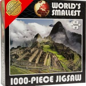 World's Smallest Puzzle 1000 pcs Machu Picchu