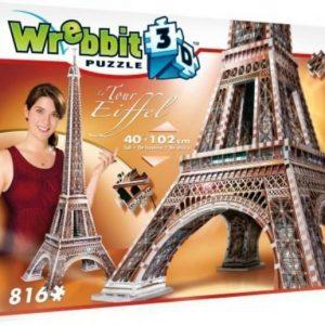 Wrebbit 3D Puzzle Eiffel-torni