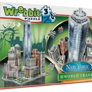 Wrebbit 3D Puzzle New York Downtown Trade Center