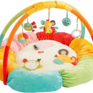 babyFEHN Safari Vauvajumppa pehmeillä reunoilla