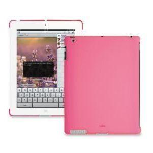 iPad takakannen pehmeäsuoja pinkki